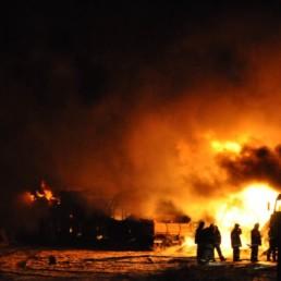 Концерн «Крост» оказал помощь семье погибшего пожарного
